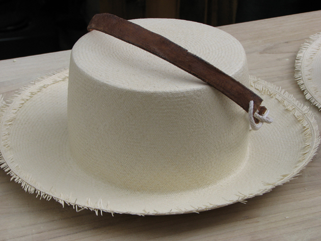 The finest hats are woven of straw that is so thin and fine it looks like linen. | Photo by Andi McDaniel